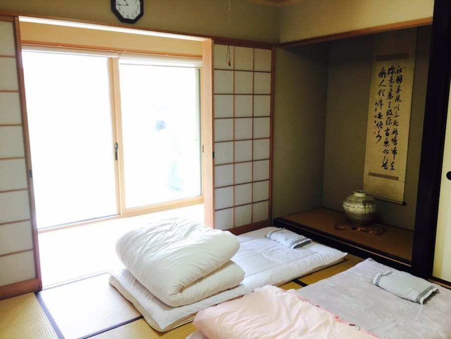 "Japanese-traditional ""Tatami"" room."