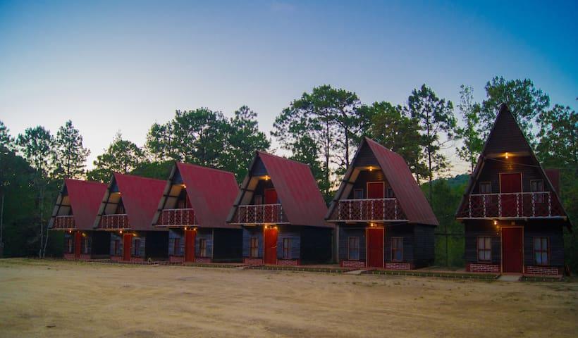 Cabaña Esmeralda en Los Lagos de Monte Bello - La Trinitaria - Natur-Lodge