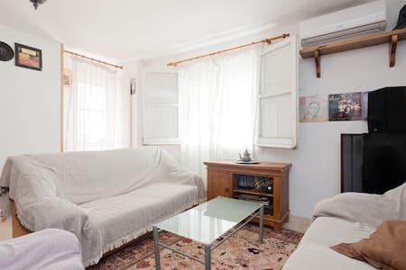 Habitación amplia y tranquila en el Alto Albaycin. - Granada - Wohnung