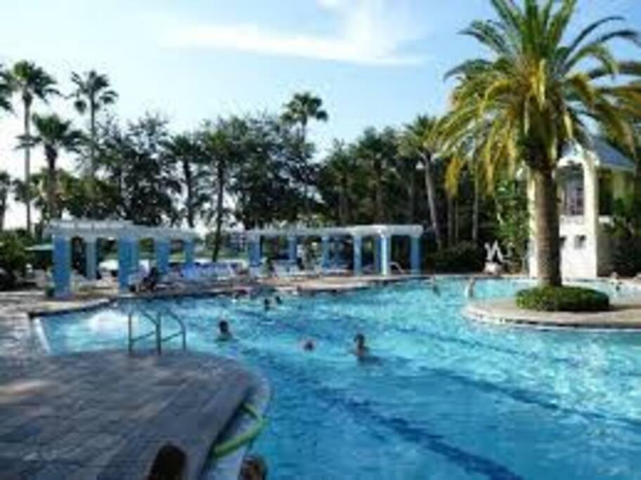 Second pool.