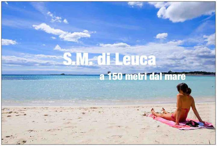 Leuca App. a 150 metri dal mare.