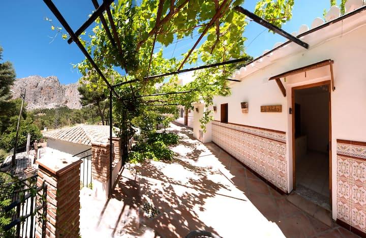 Bonita casa con vistas en El Chorro