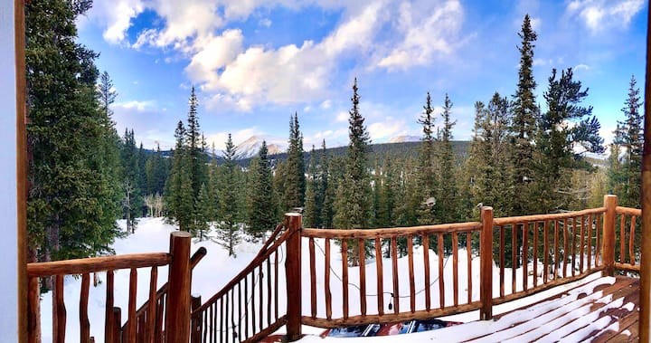 Secluded Cabin at 11,111 ft   Near Breckenridge