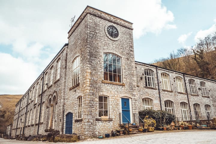Litton Mill Retreat, Luxury Converted Mill