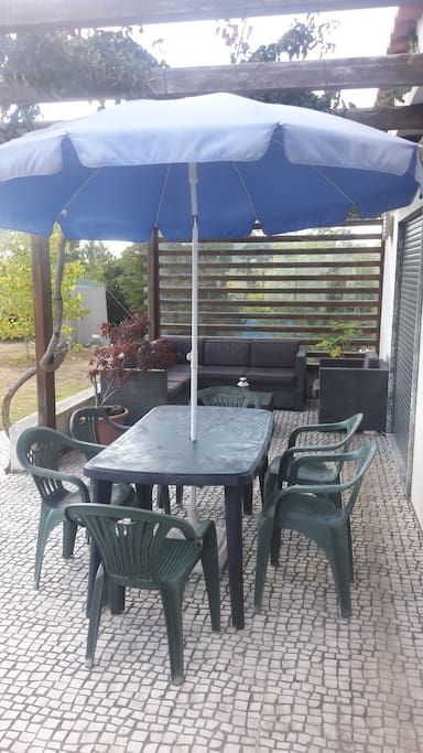 Porch/Sofas ( relaxing and meals )