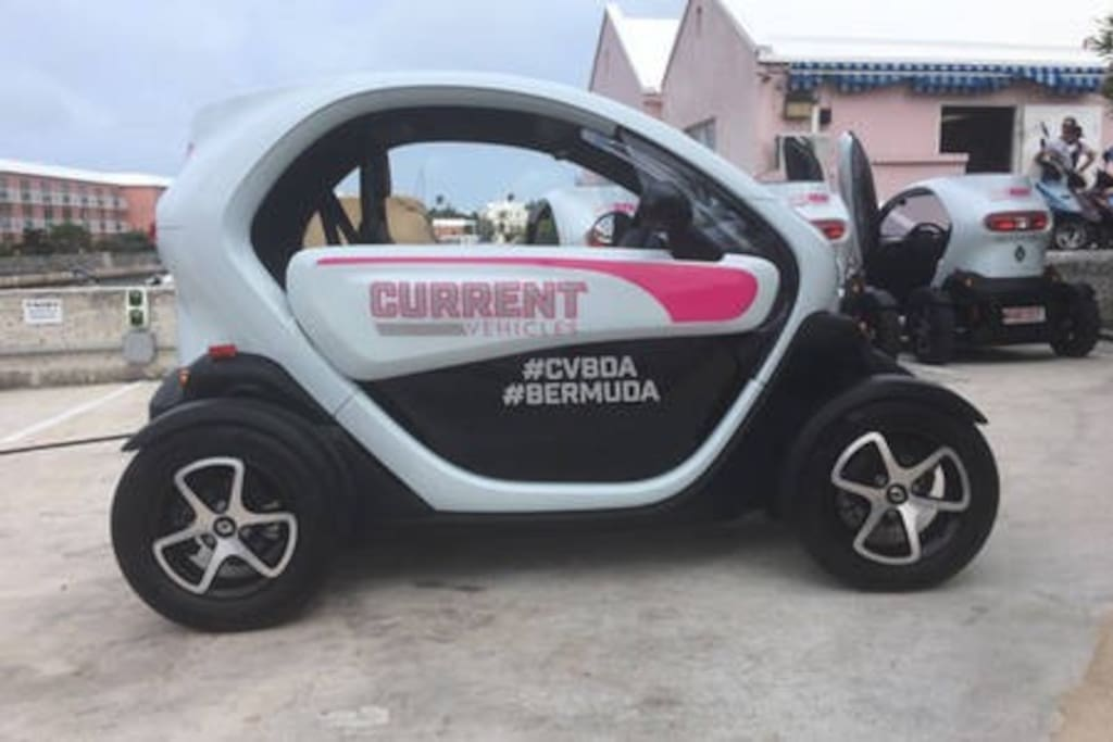 Why not rent an electric vehicle to get around?   It's a great way to tour the Island!