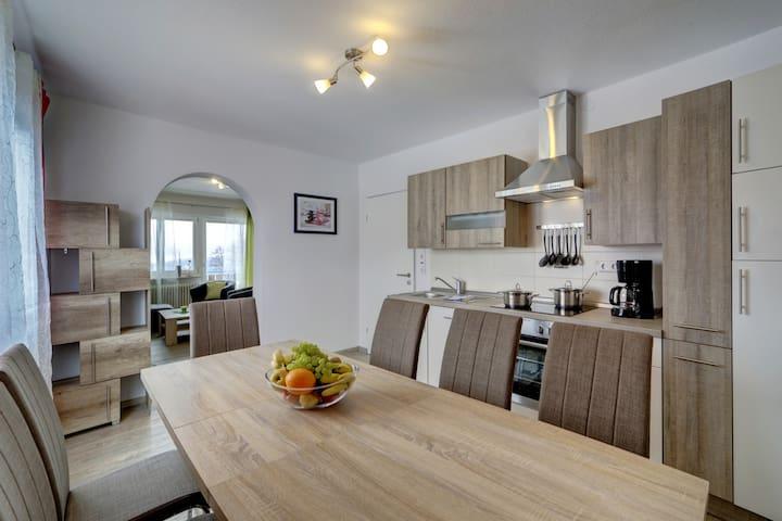 Neue 130 qm Wohnung 6 Pers. im Bayerischen Wald!