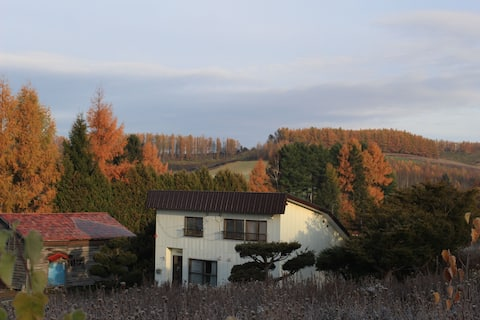 A small inn in the wilderness of Furano