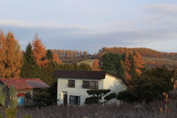 (ツインベッド)富良野 大自然の中の小さな宿