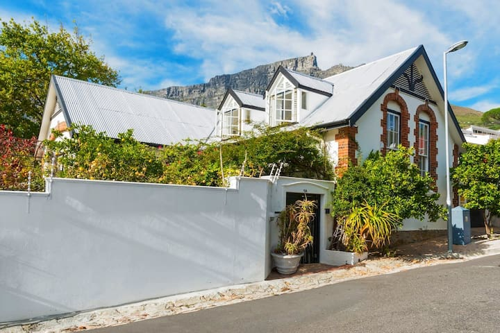 Views, central, double storey converted churchwing