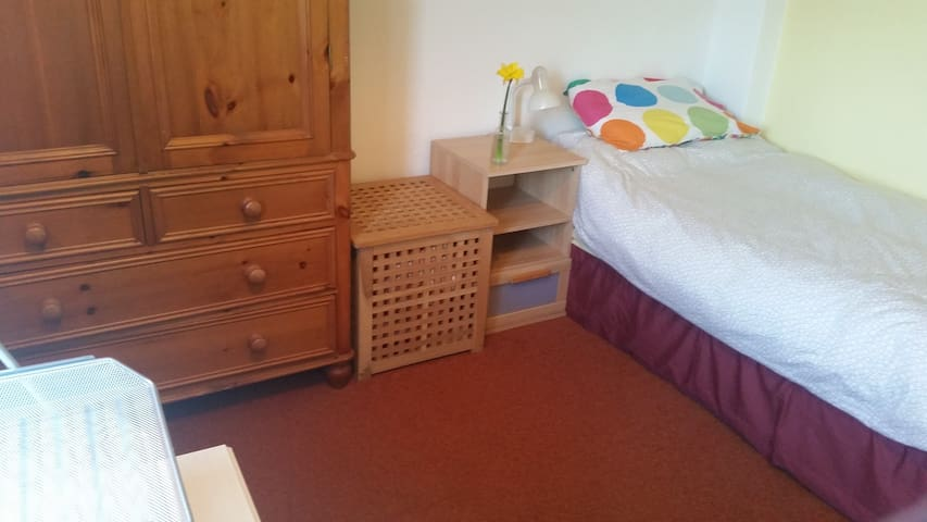Comfy single room in clean bright lovely home