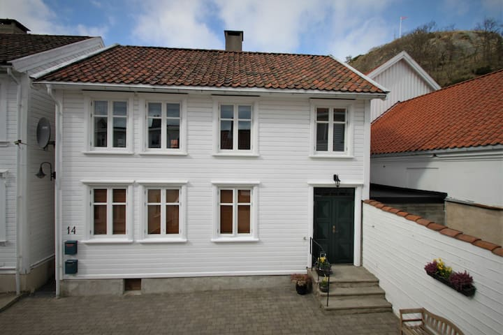 Modern appartment in classic house from the 1800's