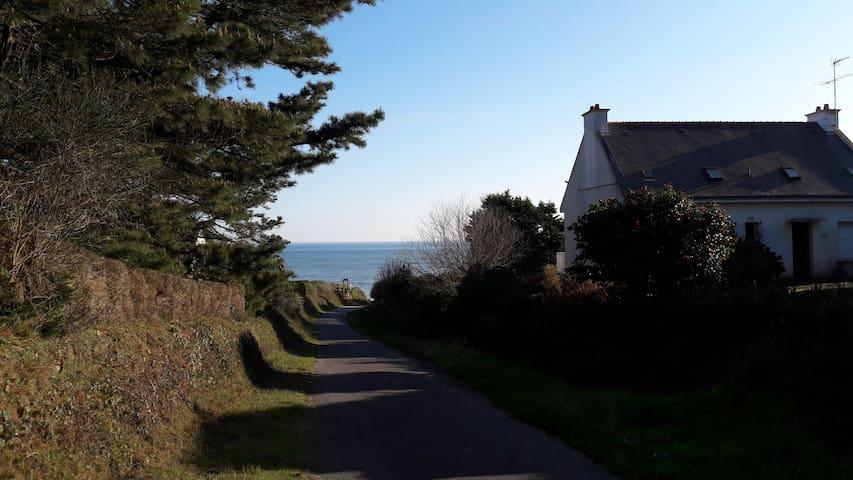 Vue sur l'océan, à 200m de la plage - Saint-Gildas-de-Rhuys