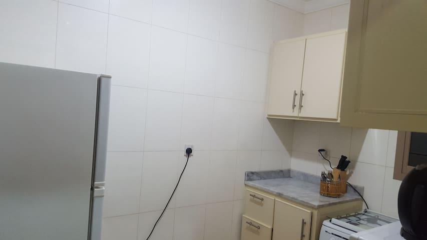 equpied kitchen