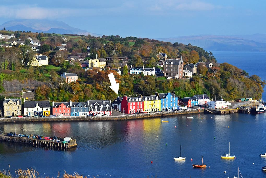 Cottage for Rent in Tobermory Scotland