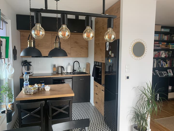 Loft Style Apartment in the Heart Of Oliwa Gdansk