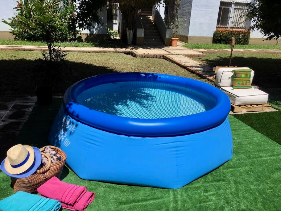 """This Mini Pool ( 8' x 30 """" )  is reserved  for guest use only."""