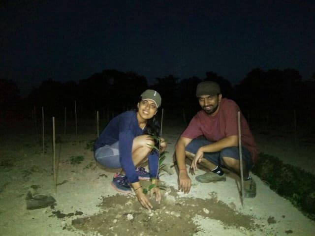 Night Walk & Planting @ Sapoi