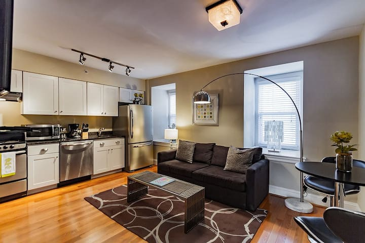RITTENHOUSE SQUARE 4F, HISTORIC APT IN CENTER CITY