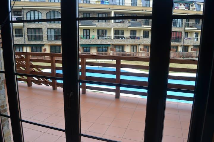 Apartamento en Urbanización con Piscinas y Spa - Barreiros - Apartamento