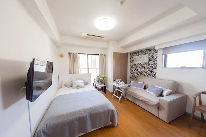 *HIROO CENTRAL WHOLE APT* + *wifi13 - Shibuya-ku - アパート