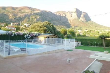 Rez de villa ,Jardin piscine privés - Casa