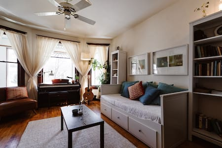 Peaceful, artistic home in the heart of downtown