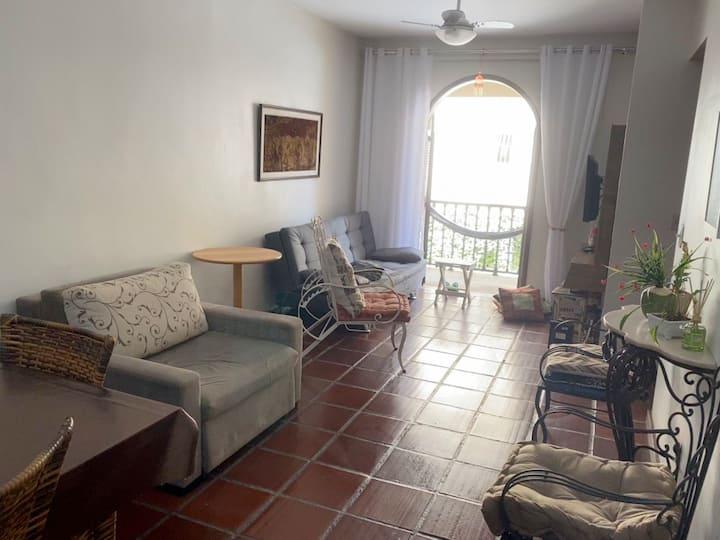 Apartamento aconchegante e bem localizado!