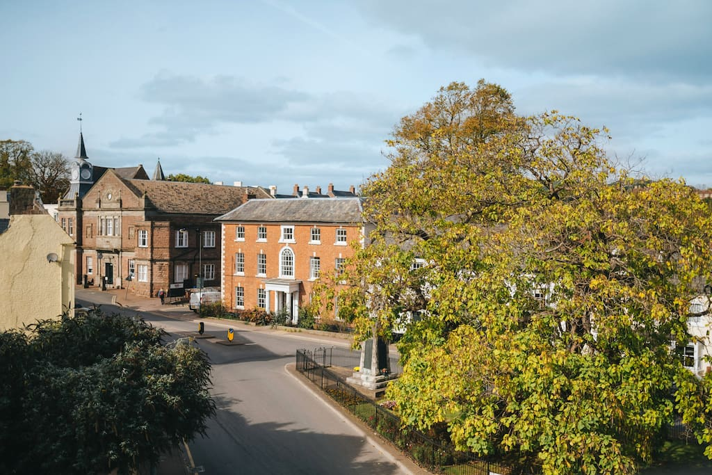 View onto St James Square
