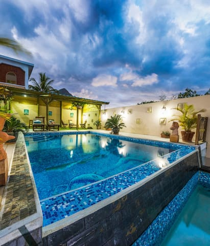 Blue Pearl  villa 1 - La Gaulette - Rumah