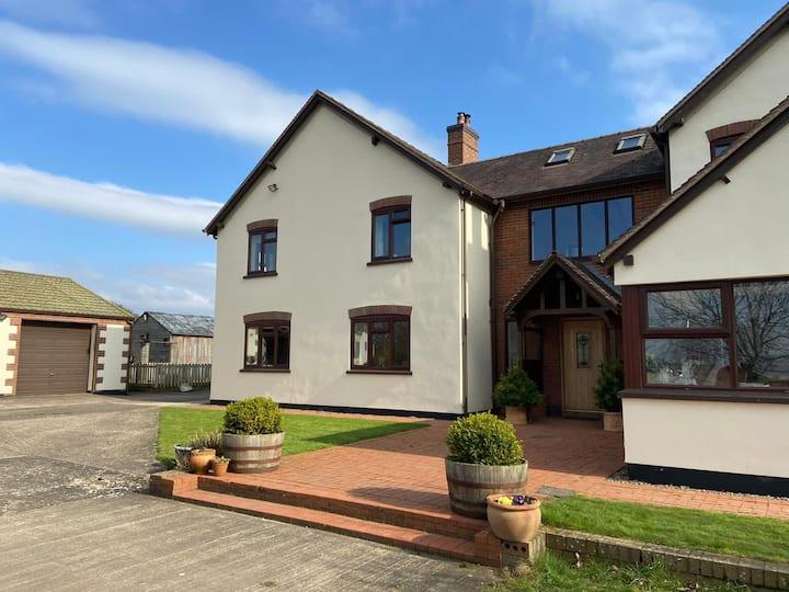 Guest Annexe, rural location Shropshire