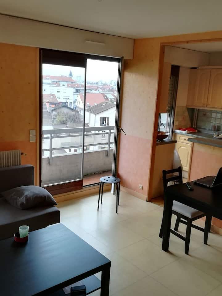 Logement de 25 m2 pour 4 à - de 20 min de Paris