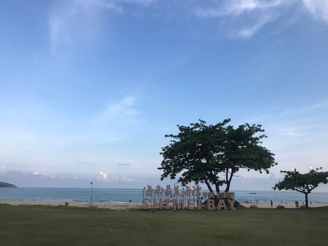 海南石梅湾华润轻奢海景公寓,中国最美海滩、最美书屋!