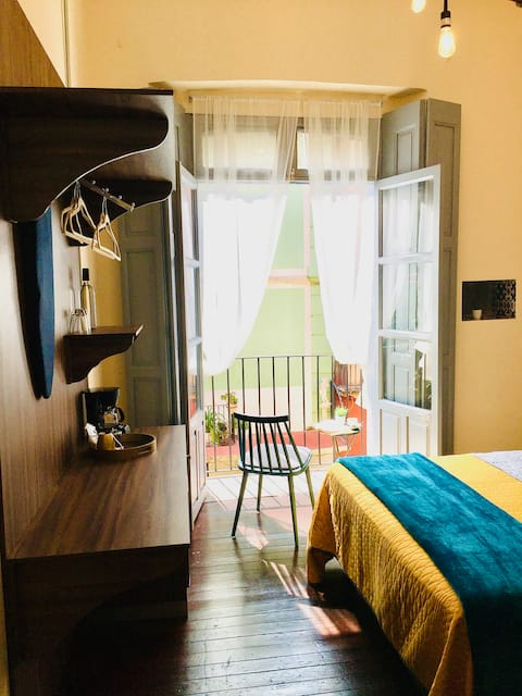 Romance Apartment/RELAX&Balcón/Centro Histórico