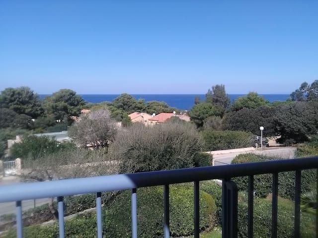 Marine de Sant'ambroggio,superbe vue mer, calme - Lumio - Appartamento