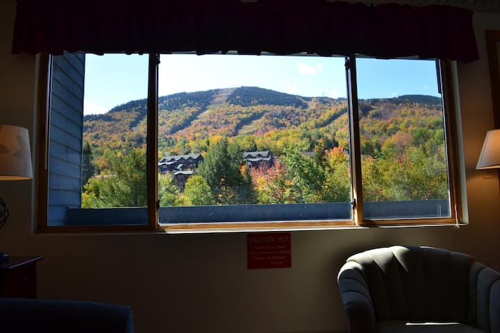 Sunday River Brookside A210 Studio view of trails