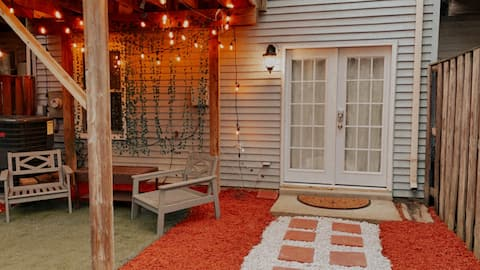 Prywatne wejście Pokój z prywatnym dziedzińcem relaksu