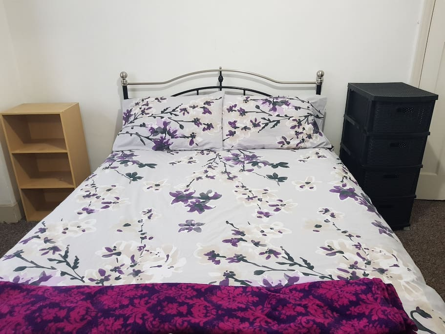 Comfy new double bed