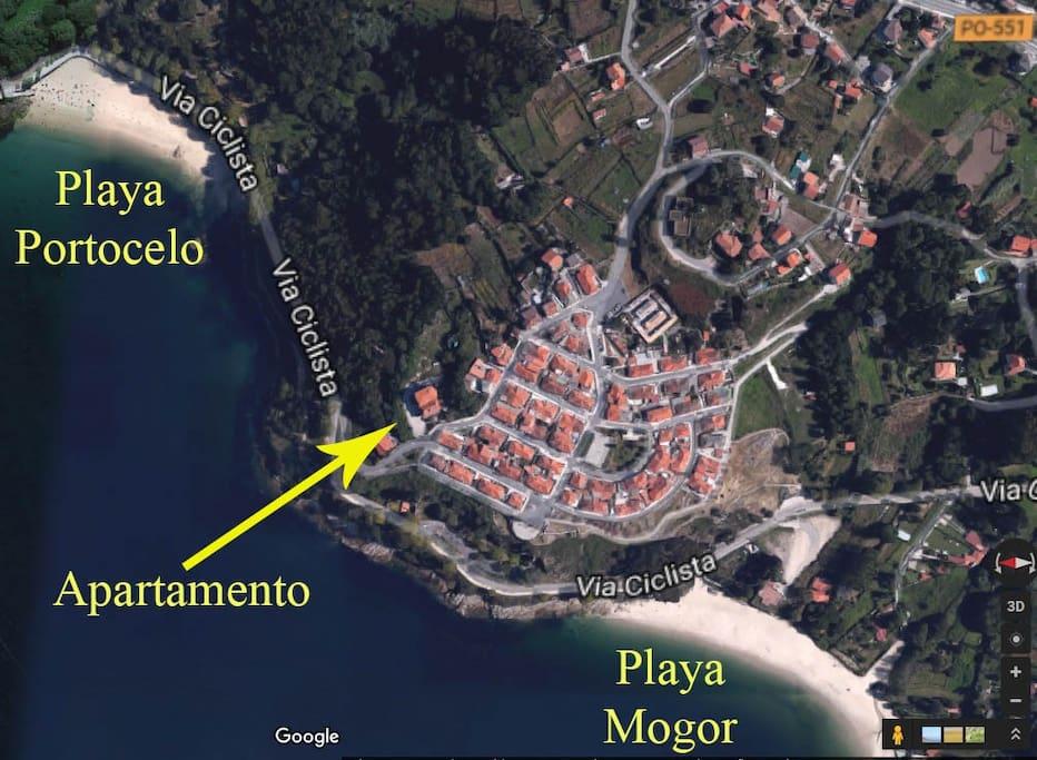 Google Earth view.