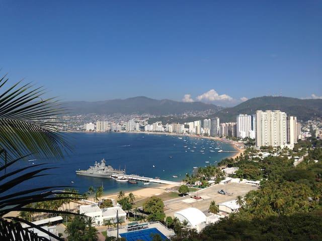 Apartment with an amazing view. La mejor vista!!