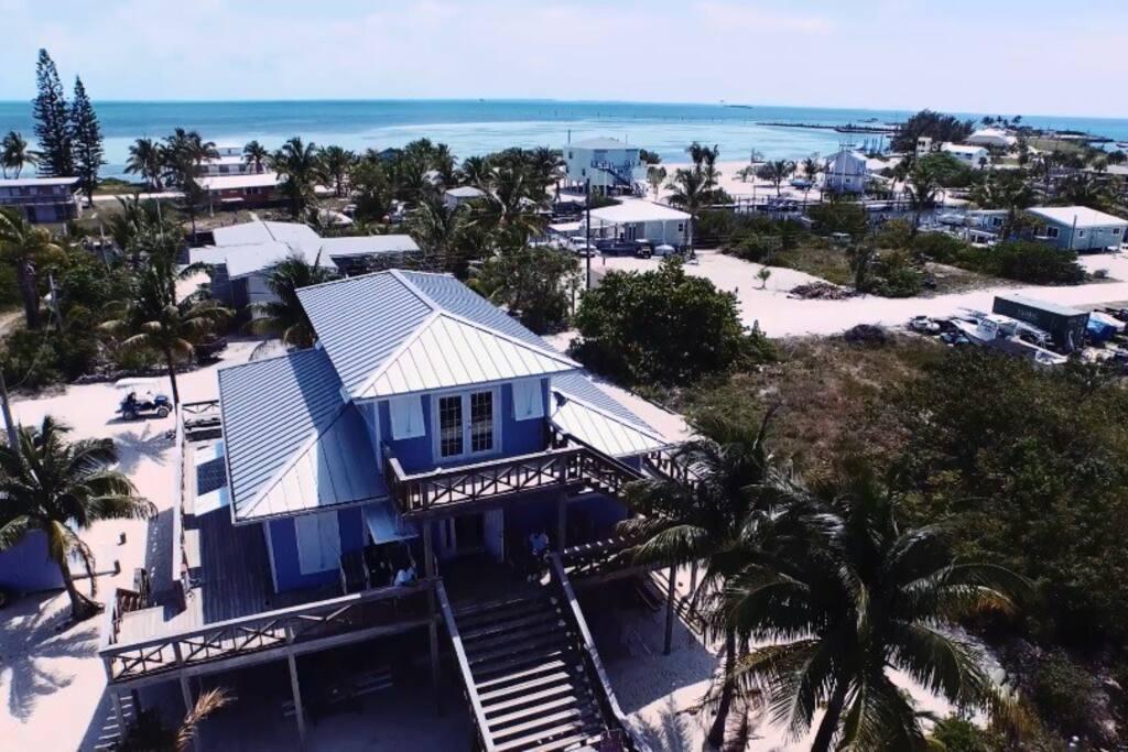 Bimini house aerial shot