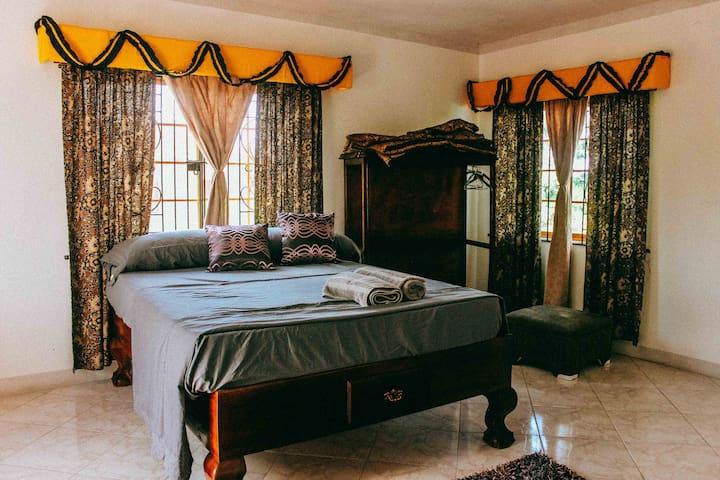 Heliconia & Sweetsop- Villa Jamaica #5