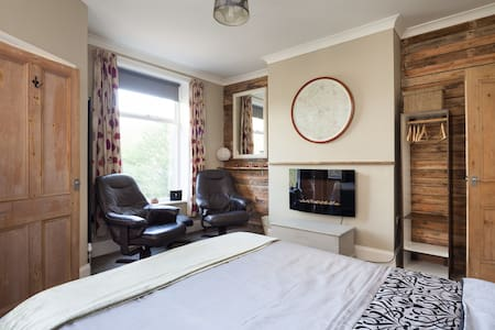 The Cabin-Hebden Bridge-Studio Flat - Hebden Bridge - Apartment
