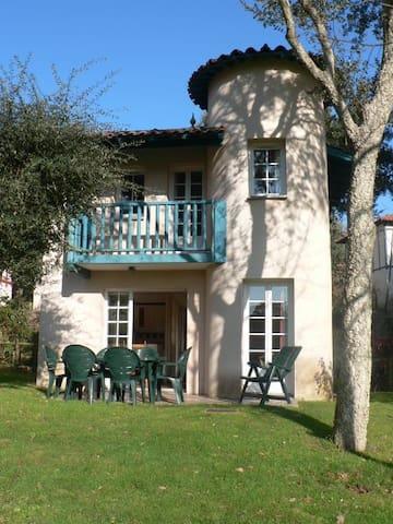 Villa belle vue étang golf Moliets village-club