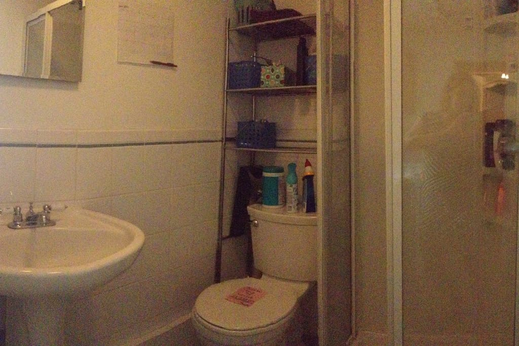 Shared Bathroom. (No baths, showers only.)