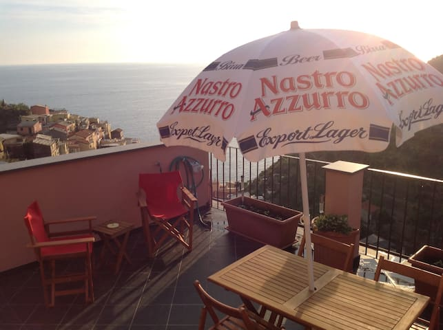 Davide's Seaview Apartment - Manarola - Pis