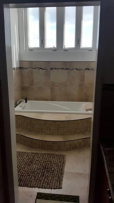 Master huge hot tub