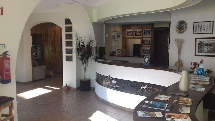"""""""Beja Hostel"""" - Pormenor da decoração da recepção"""