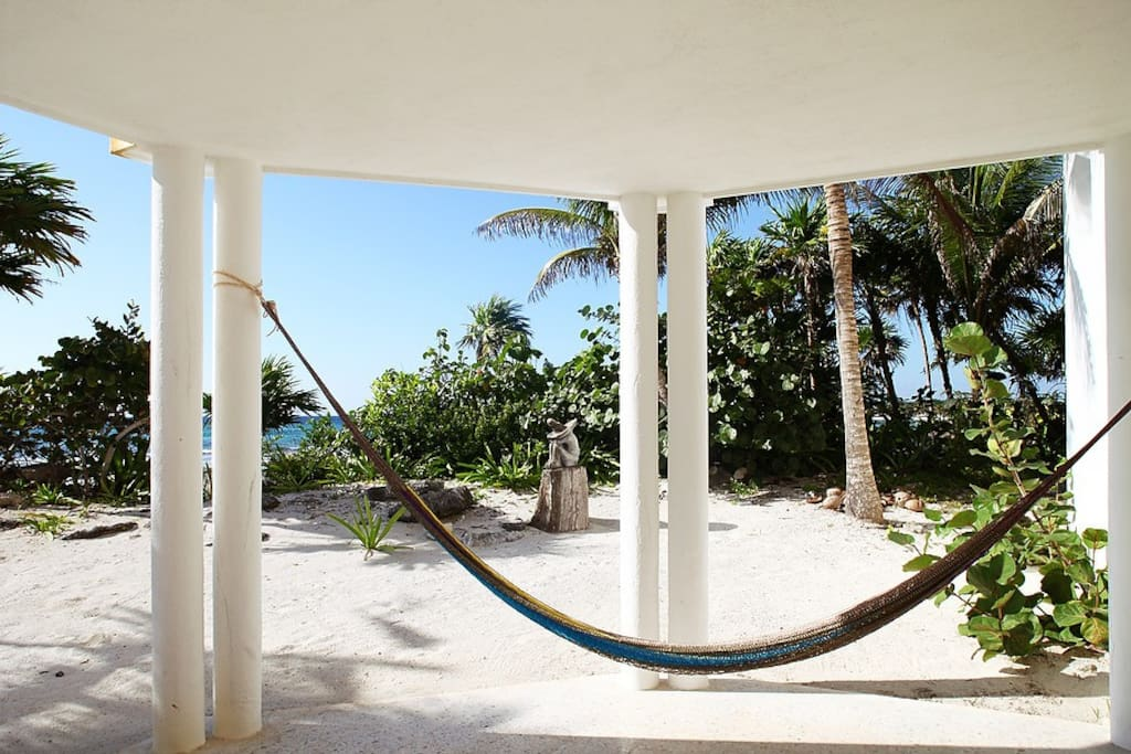 Beautiful private beach front space. Exclusive if Unit 1 and 2