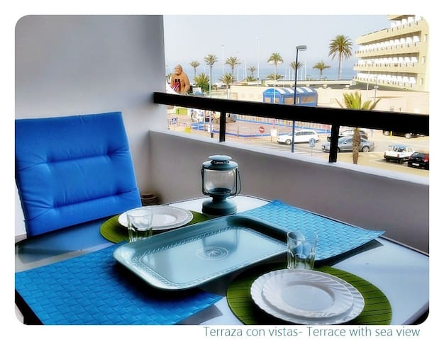 Economic bed-sitter Sea views - Roquetas de Mar - Loft